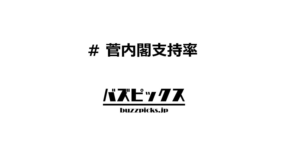 菅内閣支持率