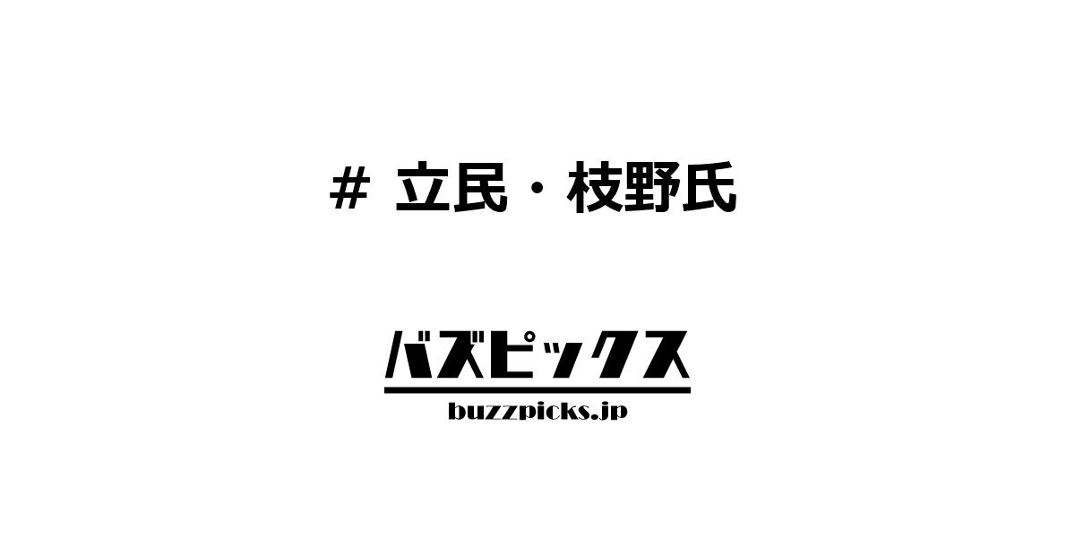 立民・枝野氏